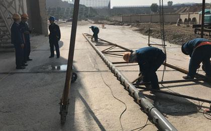 防风网安装
